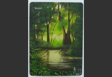 Premio próximo torneo de Legacy Forest-altered-Magic-and-Art-by-Marta-Molina-187