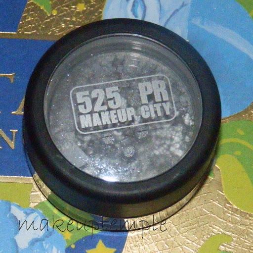 525PR Makeupcity Mineral Eye Dust Carbon