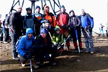 Gorbeia mendiaren gailurra 1.481 m. -  2012ko abenduaren 31an