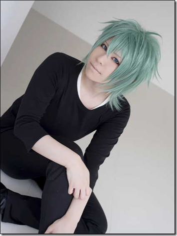 vocaloid 2 cosplay - hatsune mikuo by marimo