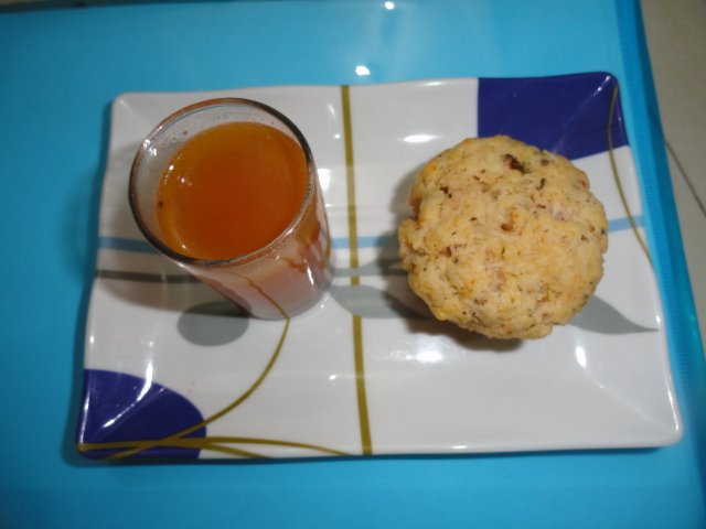 how to make eggless savoury muffins