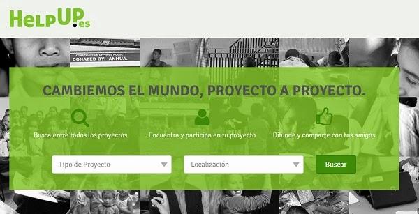 HelpUp, la red social solidaria que nos permite compartir proyectos sociales
