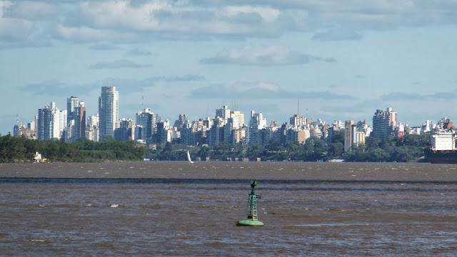 Puente Rosario-Victoria, Skyline, Costa Alta, Paseo del Caminante, Río Paraná, Rosario, Argentina, Elisa N, Blog de Viajes, Lifestyle, Travel