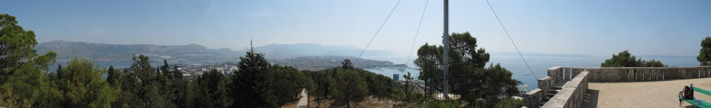 View from the top of Marjan