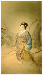 Rafu Sen Shinto Goddess Image
