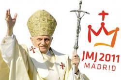 Benedetto XVI alla GMG Madrid 2011