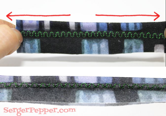 Serger Pepper - Sewing Knits - Interlock - Jersey - Best Tips