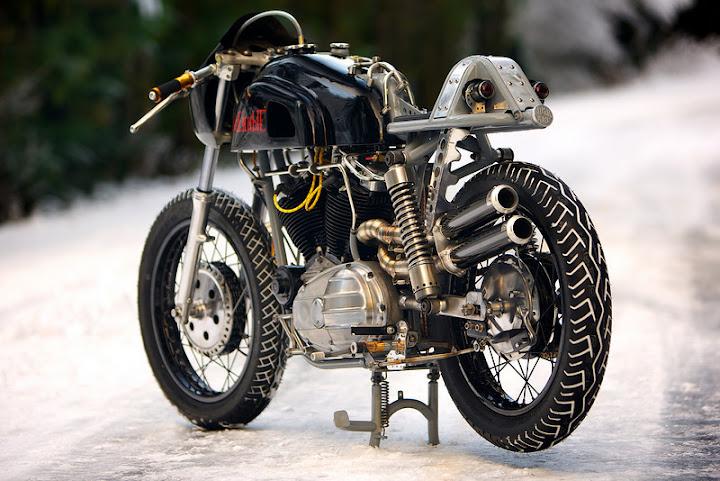 rat café racer motor cycle bike