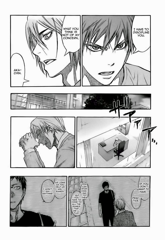 Kuroko no Basket Manga Chapter 221 - Image 04