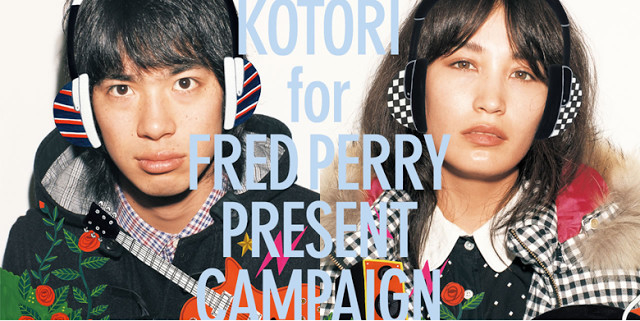 #Fred Perry x KOTORI:聯名推出 KOTORI for FRED PERRY 限定耳機! 1