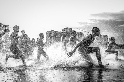 Brazil Aquathlon. First place winner of National Geographic Traveler Photo Contest 2013.