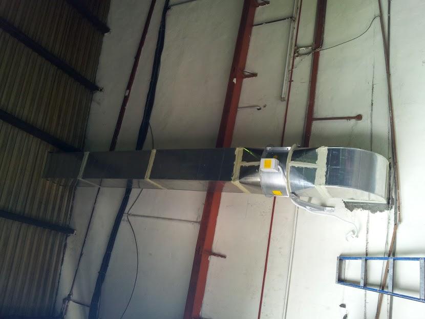 exhaust ducting