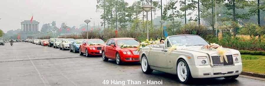 Phục vụ xe ô tô, hoa tươi trang trí cho đám hỏi, đám cưới