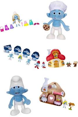 Jakks Pacific Smurf 2 toy range 2013