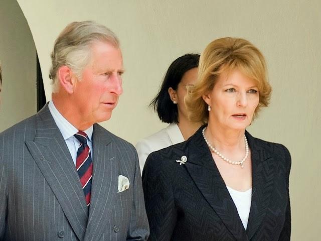 Principesa Moștenitoare Margareta alături de Prinţul Charles de Wales