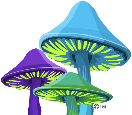 Alice Graphix Shrooms