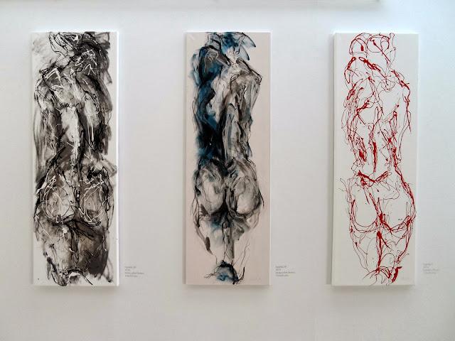 Exposición Movimiento con las pinturas de Annette Schock