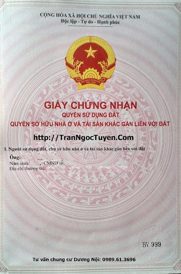 Bán gấp chung cư Dương Nội