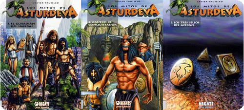 Los mitos de Asturdeva – La trilogía completa Cómic Español