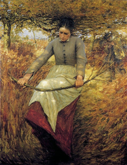 Henry Herbert La Thangue - An Autumn Morning