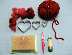 Felt So Loved - Heart Scarf