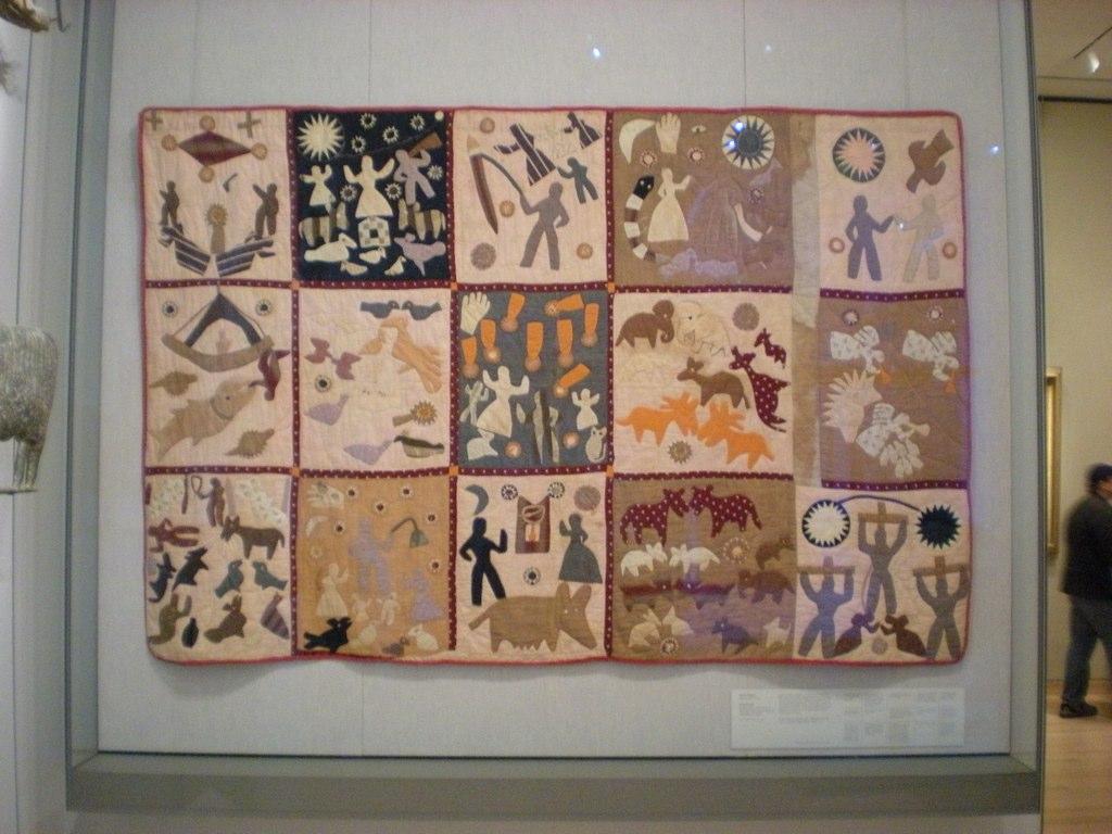 American Folk Art @ Cooperstown: Encountering God at the MFA : harriet powers bible quilt - Adamdwight.com