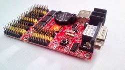 κάρτα γραφικών LED, κυλιόμενα μηνύματα LED, LED control card