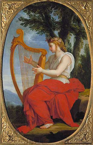 Eustache Le Sueur - The Muse Calliope