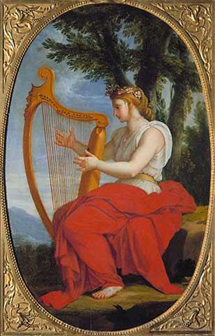 Eustache Le Sueur - The Muse Calliope