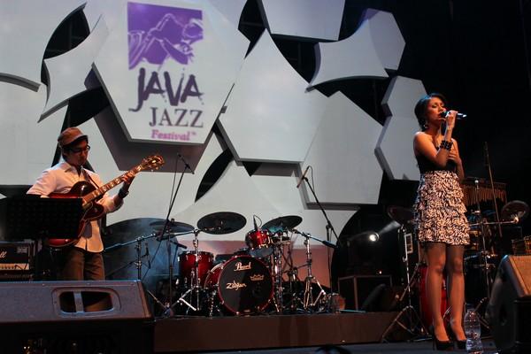 Sierra Soetedjo di Java Jazz Festival 2012