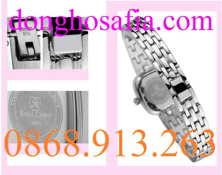 Đồng hồ nữ Royal Crown 3602