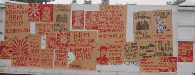 Demo Di Gedung Sate