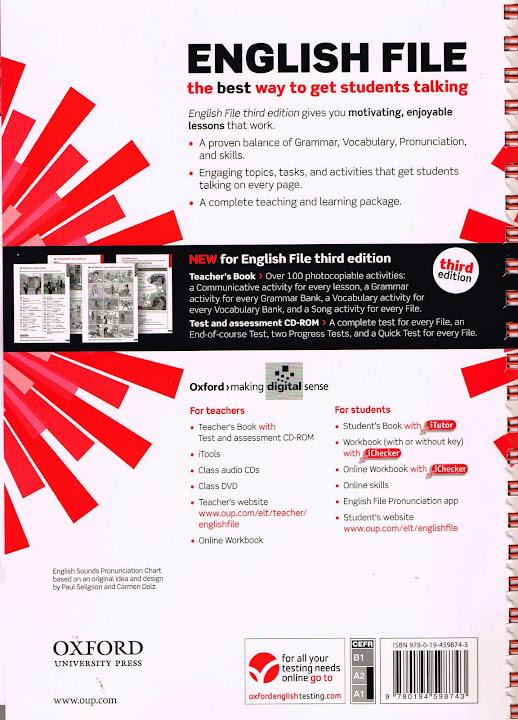 New English File Elementary Third Edition Teachers Book