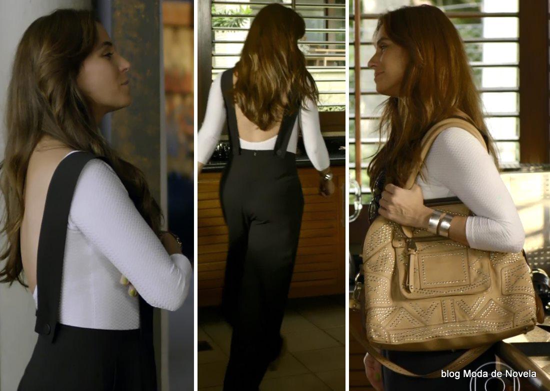 moda da novela Em Família - look da Clara dia 29 de maio