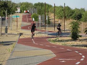 Carril bici en Pozuelo - Foto: Miguel Ángel