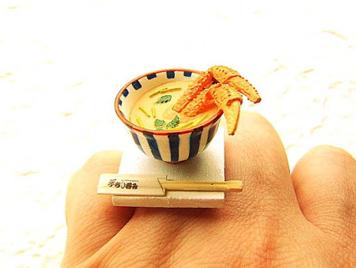 Sushi Japanese Food Ring