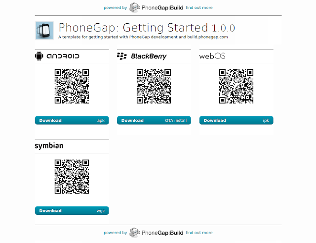 how to build phonegap app locally