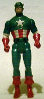 Captain America 1990 action figure from ToyBiz