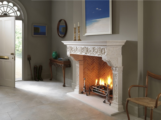 Things That Inspire Gas log fireplaces