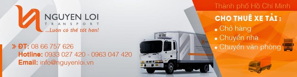 Dịch vụ: Cho thuê xe tải chở hàng giá rẻ, Xe chở thuê từ 500kg - 2.5 tấn, Dịch vụ cho thuê xe tải chuyển nhà, chuyển nhà trọn gói tại TPHCM