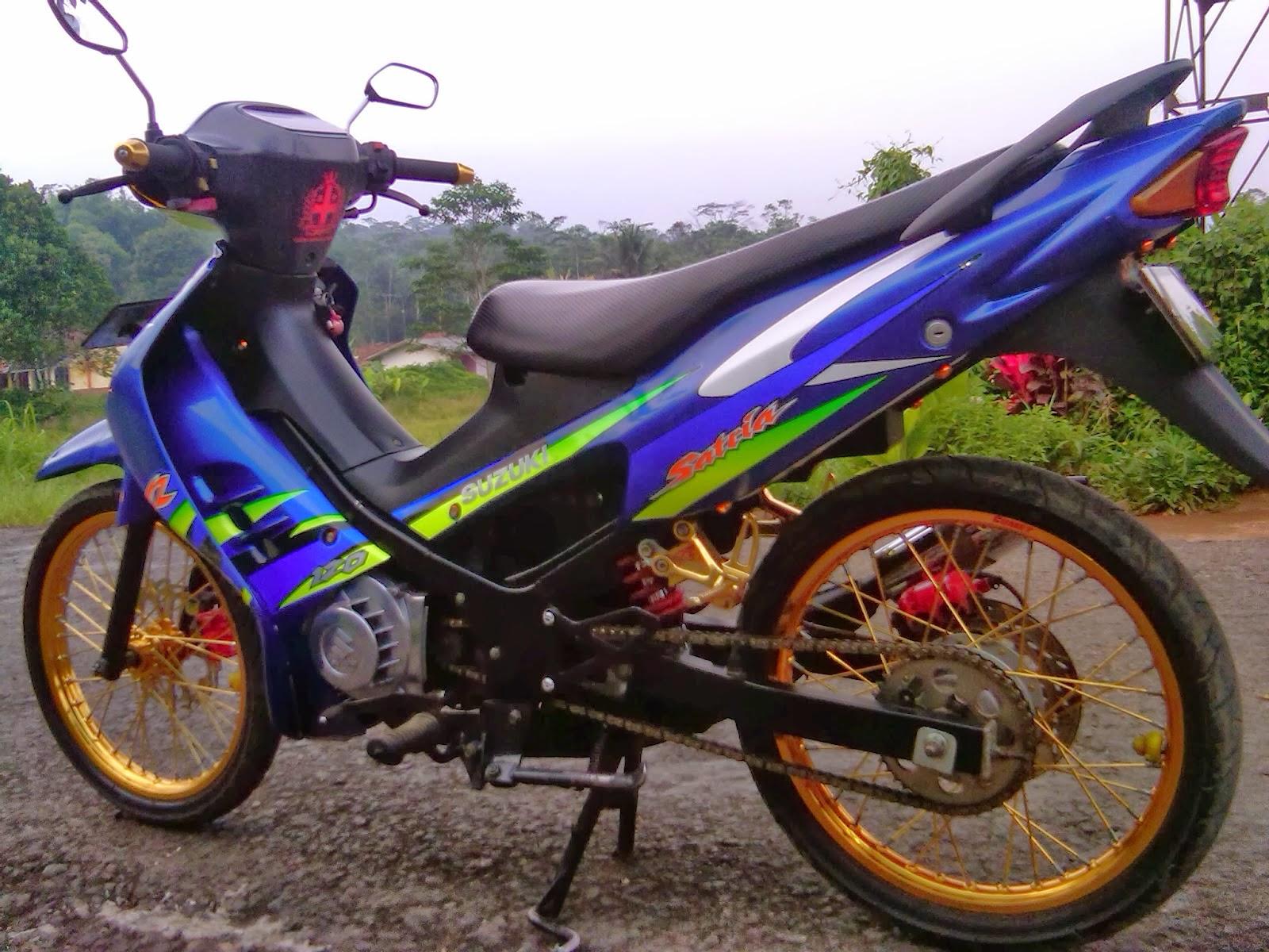 Modifikasi Motor Suzuki Satria 120r