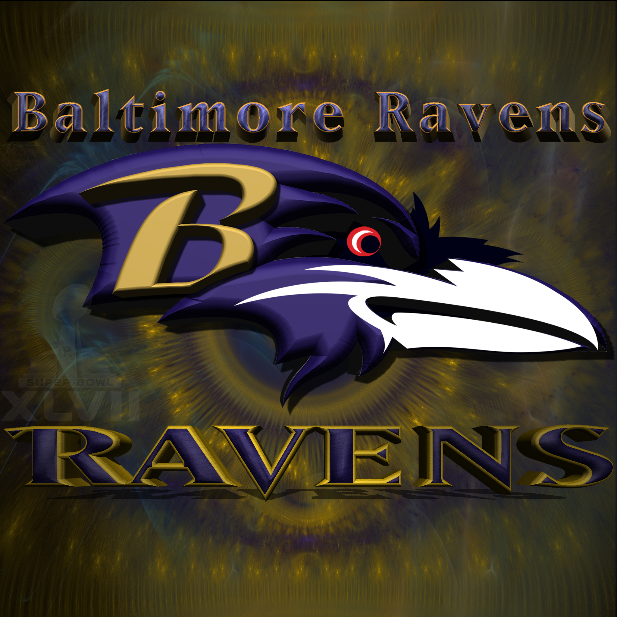 Wallpapers by wicked shadows - Baltimore ravens wallpapers android ...