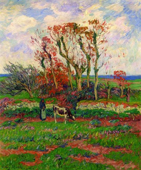 Henry Moret - Finestere, Autumn, 1909