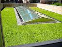 Aprovechamiento del agua de lluvia en el roof garden