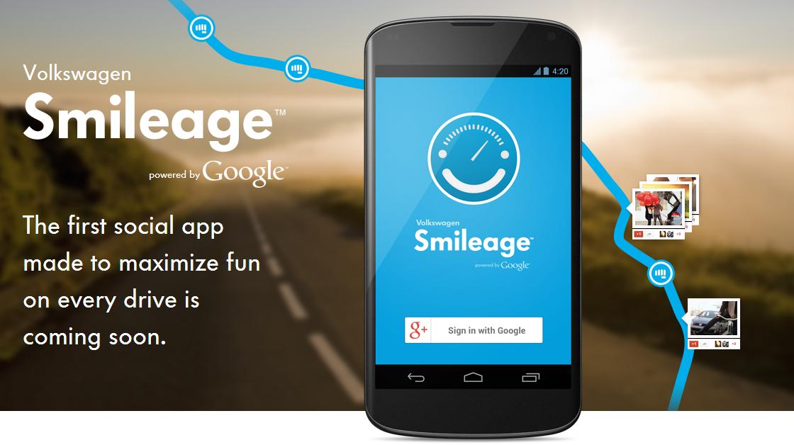 "Volkswagen and Google Get Ready To Launch ""Smileage"""
