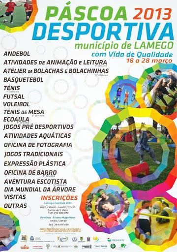 Páscoa Desportiva oferece diversão às crianças de Lamego