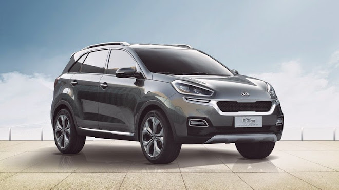 Kia presents KX3 Concept at the Guangzhou Motor Show