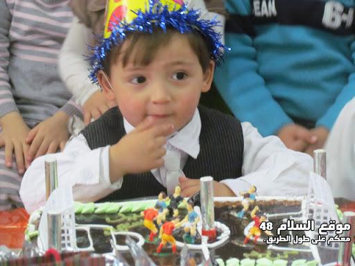 انا اسمي كريم رائد مصاروه من باقة الغربية اتعلم في روضة عدن اليوم عيد ميلادي الرابع اترككم مع الصور  IMG_5253