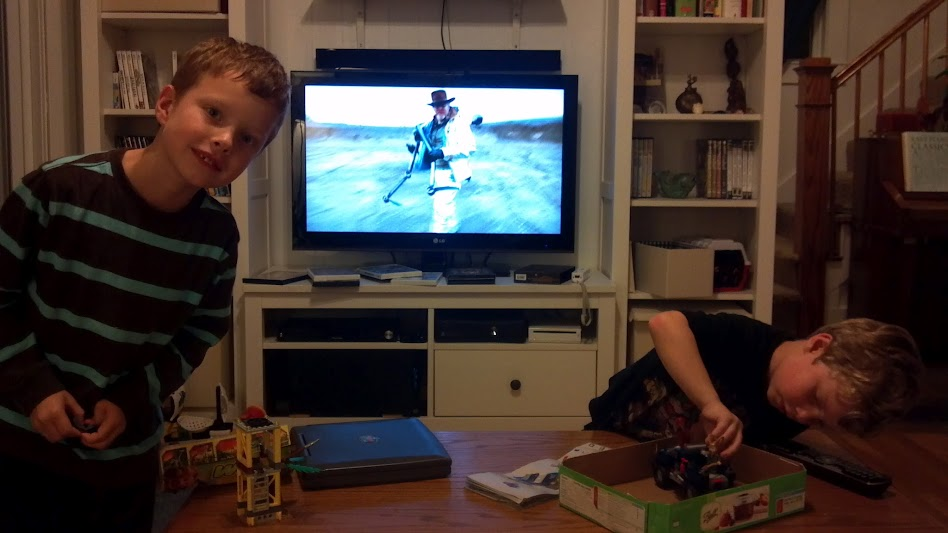 Legos and Mythbusters