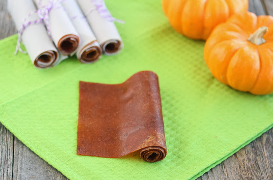 Pumpkin Fruit Leather